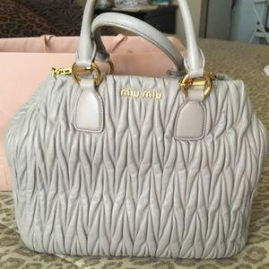 Miu Miu Mattelasse  handbag/crossbody